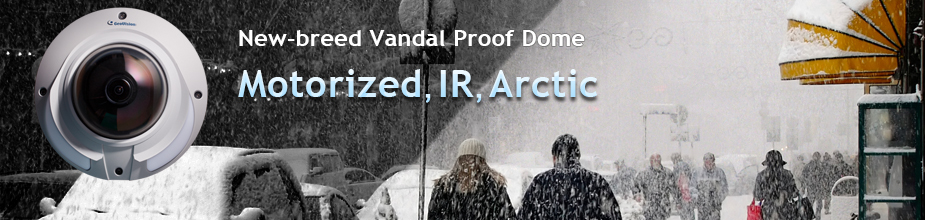 New-breed Vandal Proof dome