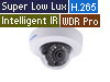 4MP H.265 Super Low Lux WDR Pro IR Mini Fixed IP Dome