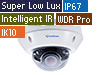 2MP H.265 Super Low Lux WDR Pro IR Vandal Proof IP Dome