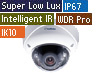3MP H.265 Super Low Lux WDR Pro IR Vandal Proof IP Dome